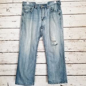 Men's Buffalo David Bitton Light Wash Denim Jeans